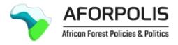 African Forest Policies & Politics (AFORPOLIS)